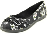 Rocket Dog Jiggy Round Toe Canvas Flats.