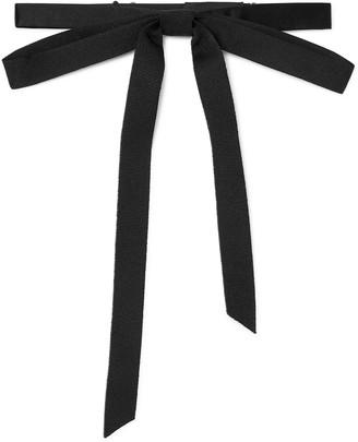 Gucci Pre-Tied Silk-Grosgrain Bow Tie