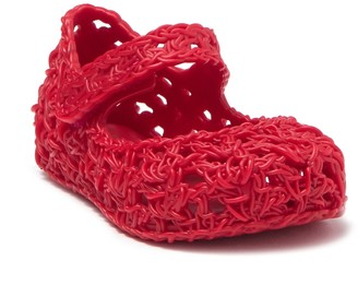 Mini Melissa Campana Crochet Mary Jane Flat (Toddler)