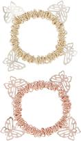 Monsoon 2x Butterfly Charm Bracelets