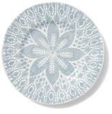 Vietri Lace Gray Dinner Plate