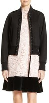 N°21 Women's N?21 Floral Embroidered Bomber Jacket