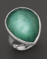 Ippolita Sterling Silver Large Teardrop Ring in Mint