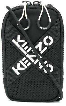 Kenzo Mini Logo Print Crossbody Bag