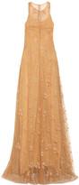 Mary Katrantzou Glitter-embellished tulle gown