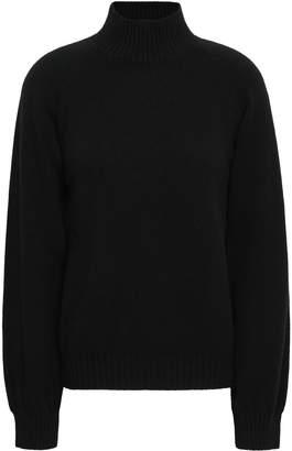 Alberta Ferretti Virgin Wool And Cashmere-blend Turtleneck Sweater