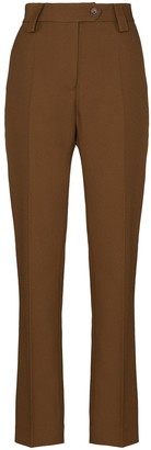 Wales Bonner High-Waist Tailored Trousers