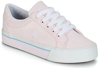 Polo Ralph Lauren ANNSEBURY girls's Shoes (Trainers) in Pink