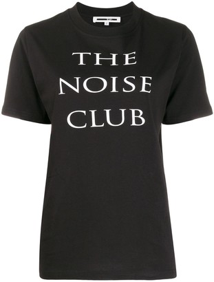 McQ Noise Club print T-shirt