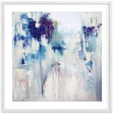 Denim & Pearls, Wall Art by Minted®, 16 x 16, White