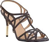 Kate Spade Issa Evening Sandal Bronze Fabric