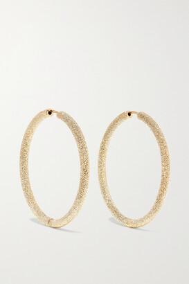 Carolina Bucci Florentine 18-karat Gold Hoop Earrings - one size
