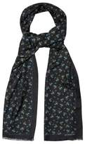 Givenchy Floral-print cotton and silk-blend scarf