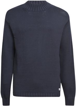 C.P. Company Ribbed Knit Plain Sweatshirt