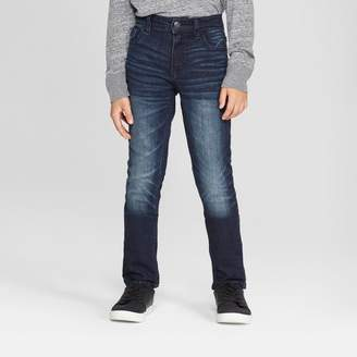 Cat & Jack Boys' Skinny Fit Jeans Medium Blue
