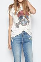 Lauren Moshi Vintage Bess Skull Shirt