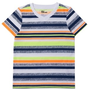 Epic Threads Toddler Boys Short Sleeve V-neck Striped T-shirt