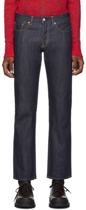 Moussy Navy Milford Straight Jeans