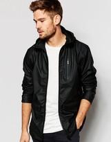 Blend of America Hooded Rain Jacket in Black