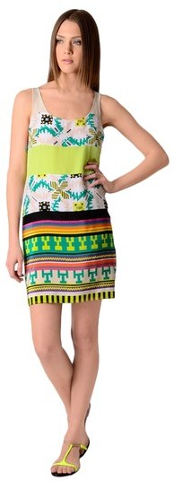MSGM Sleeveless Print Dress