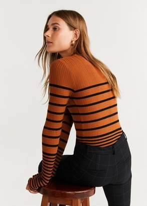 MANGO Slim-fit trousers burnt orange - 1 - Women