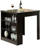Monarch Counter-Height Shelf Panel Dining Table