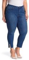 NYDJ Ami Embroidered Side Vent Jeans (Plus Size)