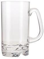 Prodyne Polycarbonate Beer Mug Set of 4 - Clear (18 oz)
