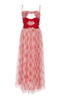 ADAM by Adam Lippes Argyle Lace Cami Dress