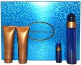 Perry Ellis 360 Blue for Women-4 Pc Gift Set 3.4-Ounce Edp Spray, 3-Ounce Shower Gel, 3-Ounce Body Lotion, 7.5ml EDP Spray