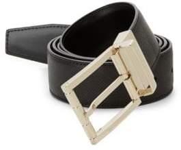 Bally Astor Adjustable& Reversible Leather Belt
