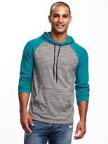 Old Navy Color-Blocked Raglan-Sleeve Hoodie for Men