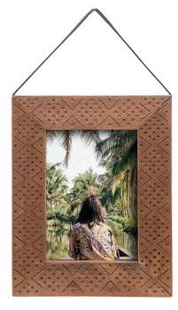 Foreside Home & Garden 5X7 Hanging Etched Photo Frame - Foreside Home and Garden