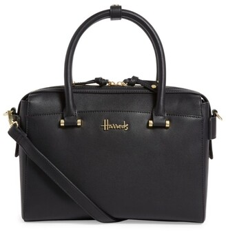 Harrods St James Barrel Bag