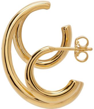 Charlotte Chesnais Gold Triplet Single Earring
