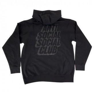 Anti Social Social Club Black Cotton Knitwear & Sweatshirts
