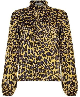 Damsel in a Dress Aimee Animal Print Blouse