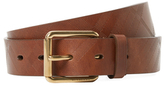 Burberry Five Notch Leather Belt