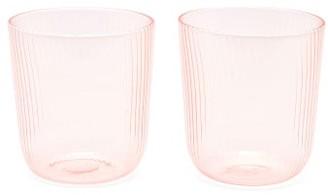 R+D.LAB - X Lee Mathews Set Of Two Luisa Glasses - Light Pink