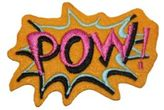 Logophile Embroidered Pow Patch