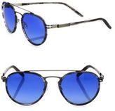 Barton Perreira 54MM Round Sunglasses