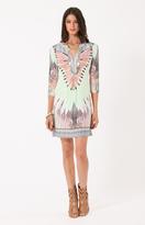 Hale Bob - Nila Jersey Dress in Taupe
