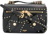 Moschino studded shoulder bag