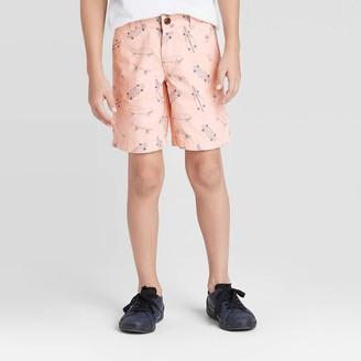 Cat & Jack Boys' Stretch Flat Front Chino Shorts - Cat & JackͲ
