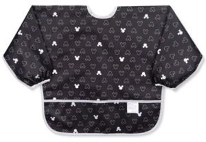 Bumkins Mickey Mouse-Print Waterproof Sleeved Bib