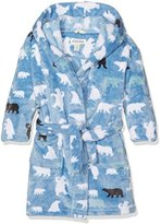 Hatley Little House by Boy's Lbh Kids Fleece Robe Bears Pyjama Top