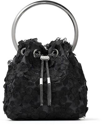 Jimmy Choo Bon Bon floral bucket bag