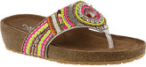 Azura Women's Anarosa Embellished Thong Sandal