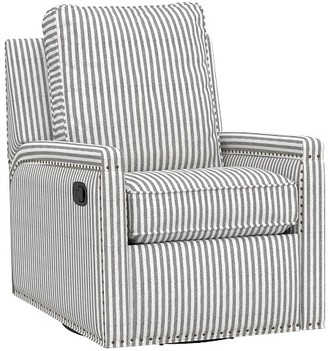 Pottery Barn Kids Tyler Square Arm Swivel Glider & Recliner