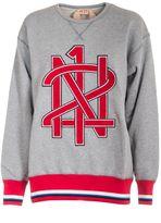 N°21 N.21 Branded Sweatshirt
